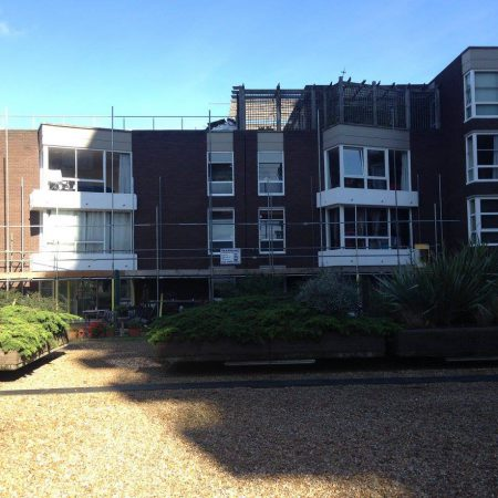 External Repairs and Decoration Project. Rosebank Wharf, Fulham