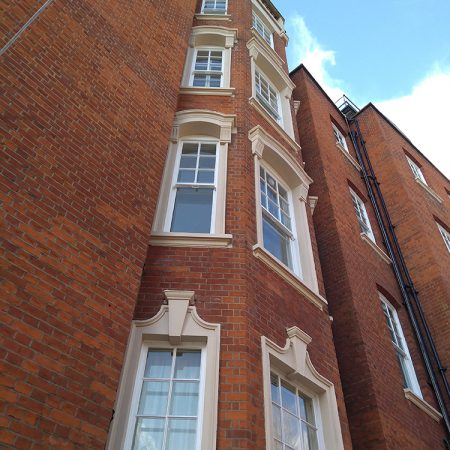 Gloucester Walk, Kensington. External Repair and Decorations